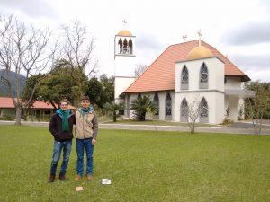 Karl y Fabio en Rodeio